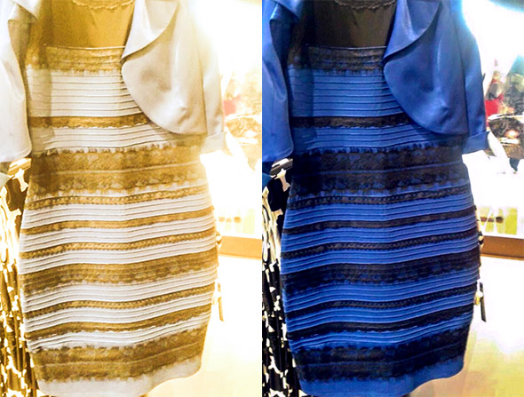 The dress color debate original picture of the blue