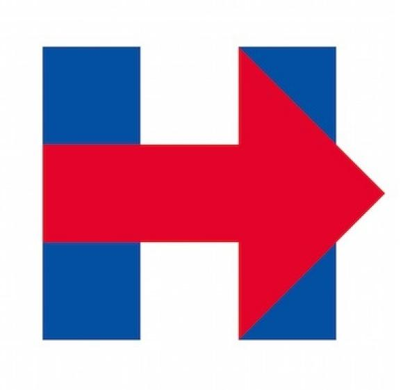 hillary clinton 2016 campaign logo gets mixed reaction on twitter