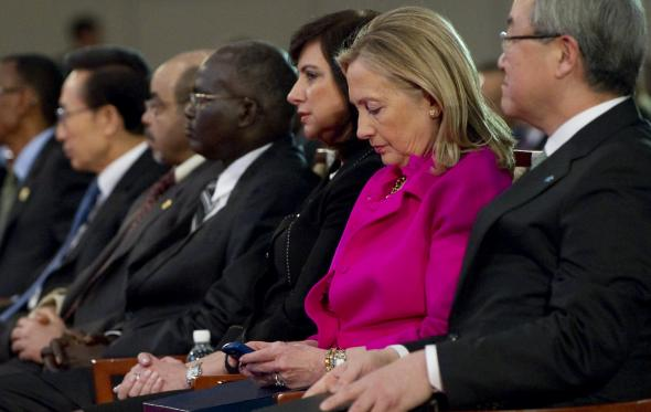 134272681-secretary-of-state-hillary-clinton-checks-her