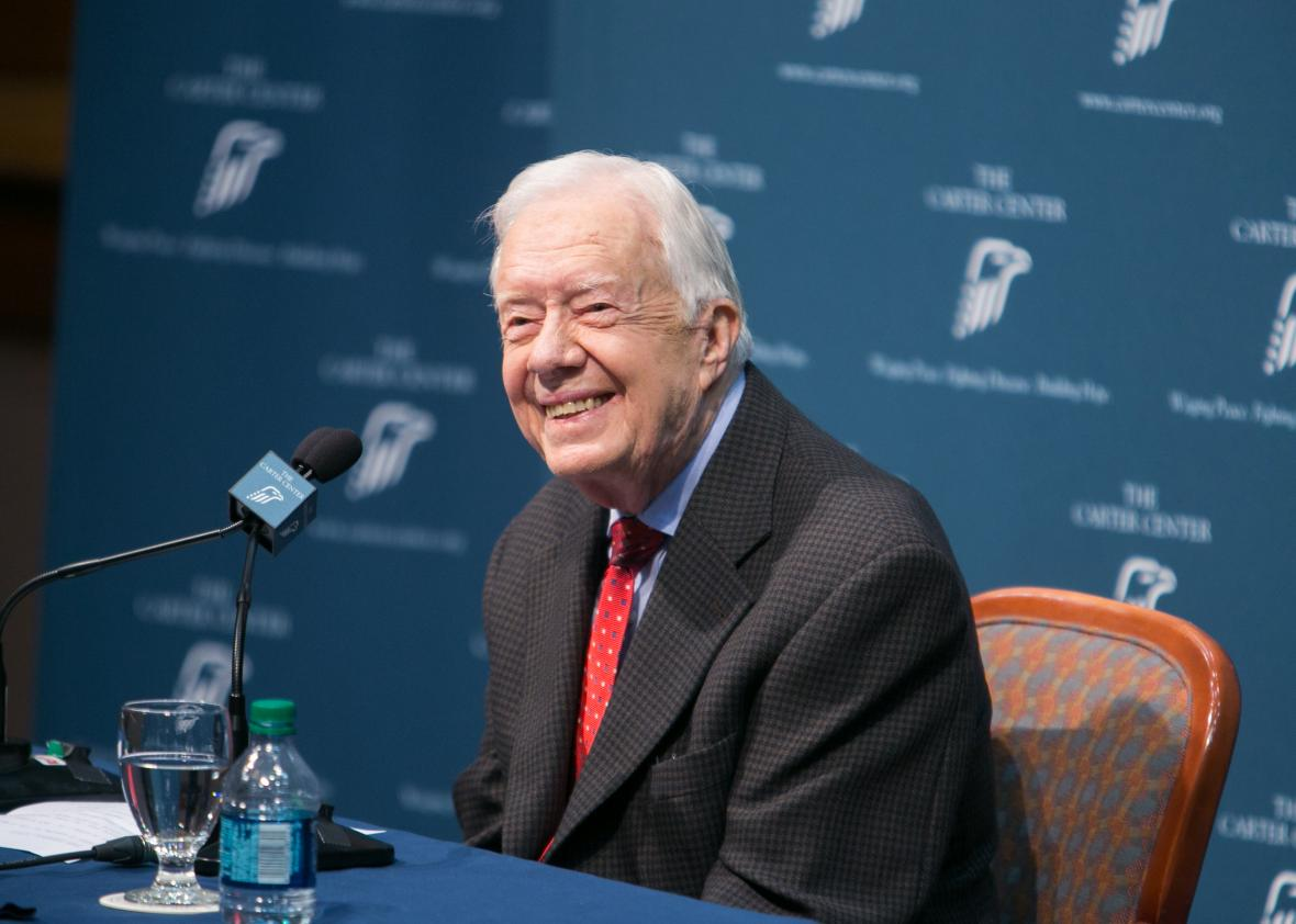 484579100-former-president-jimmy-carter-discusses-his-cancer