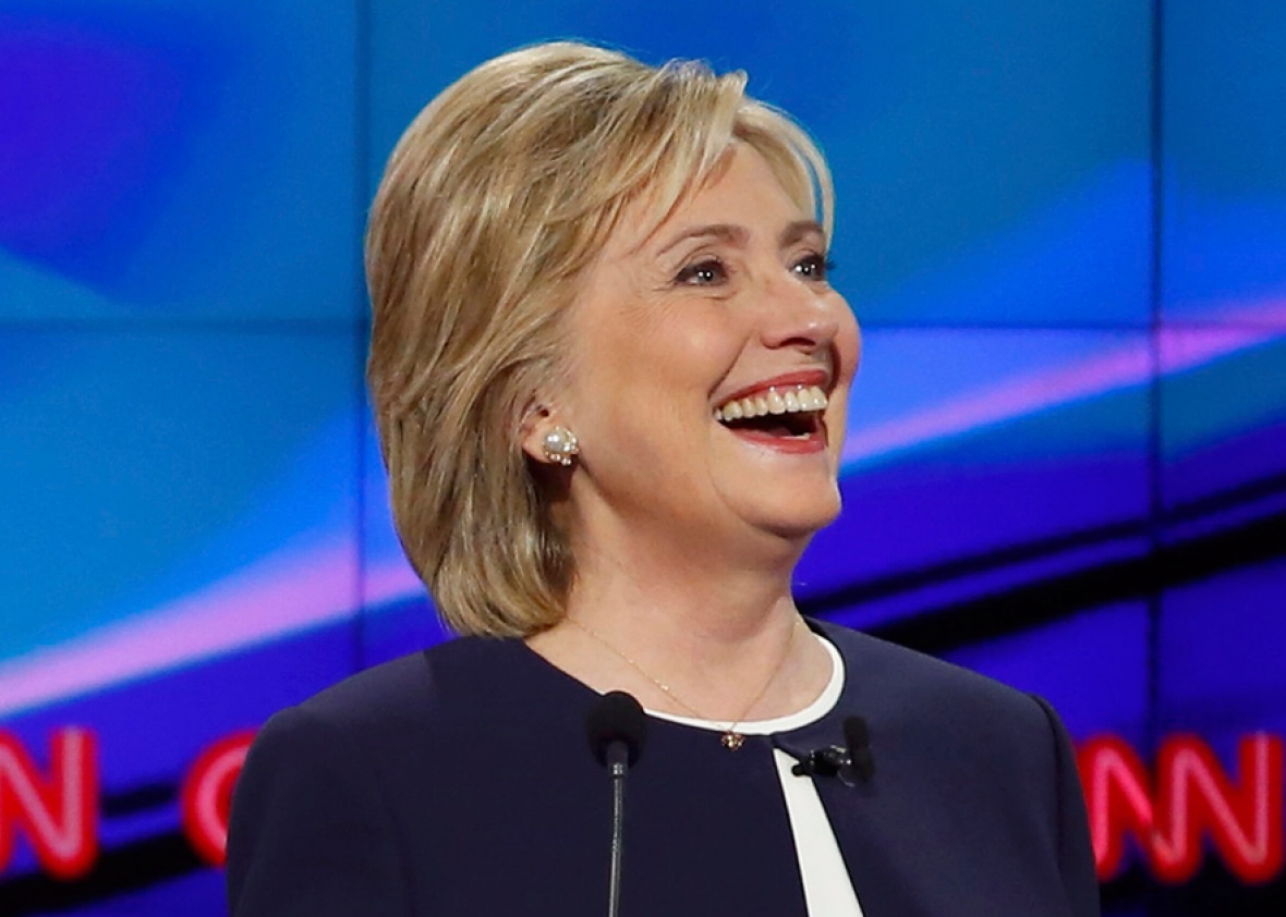 151013_dem-debate-clinton-smiling