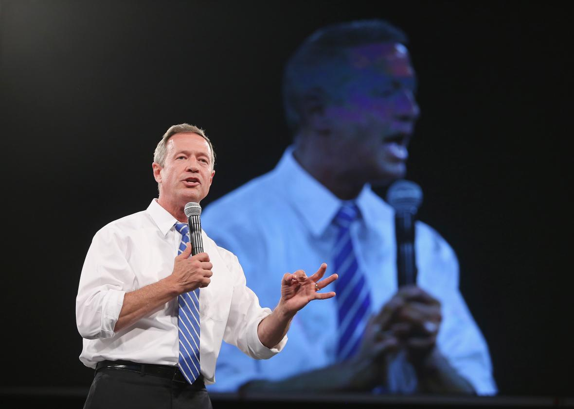 494136634-democratic-presidential-candidate-martin-omalley-speaks