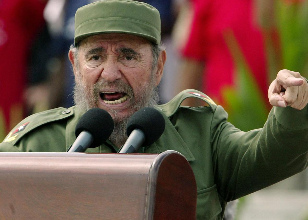 the dictatorship of cuban leader fidel castro Florida sen marco rubio, the son of cuban immigrants and a critic of obama's cuba policy, criticized the president's statement and said that one thing is clear, history will not absolve.