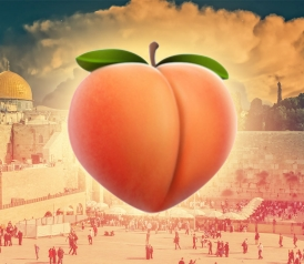 slate.com - Official White House Document Promotes Goal of 'Lasting Peach' Between Israelis and Palestinians