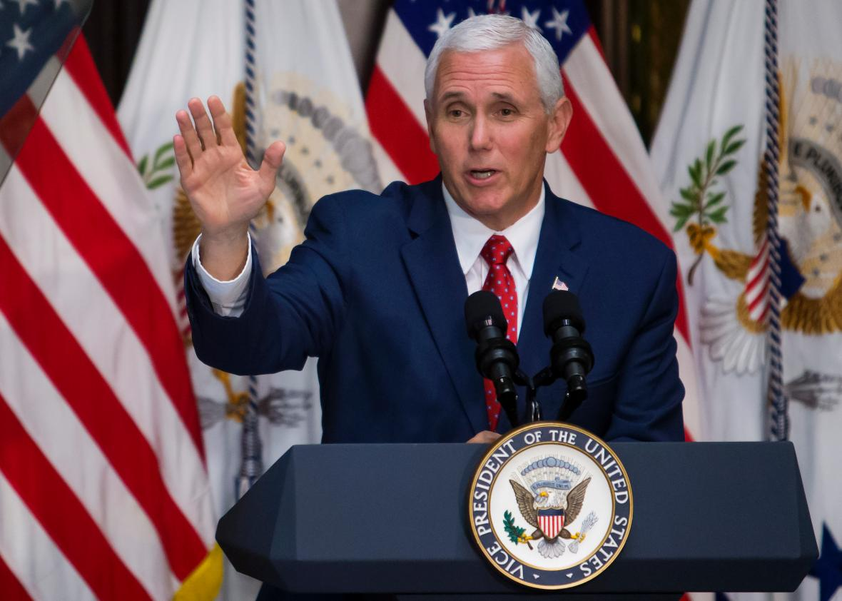 Vice-President-Mike-Pence-Attends-Infrastructure-Summit-Working-Luncheon