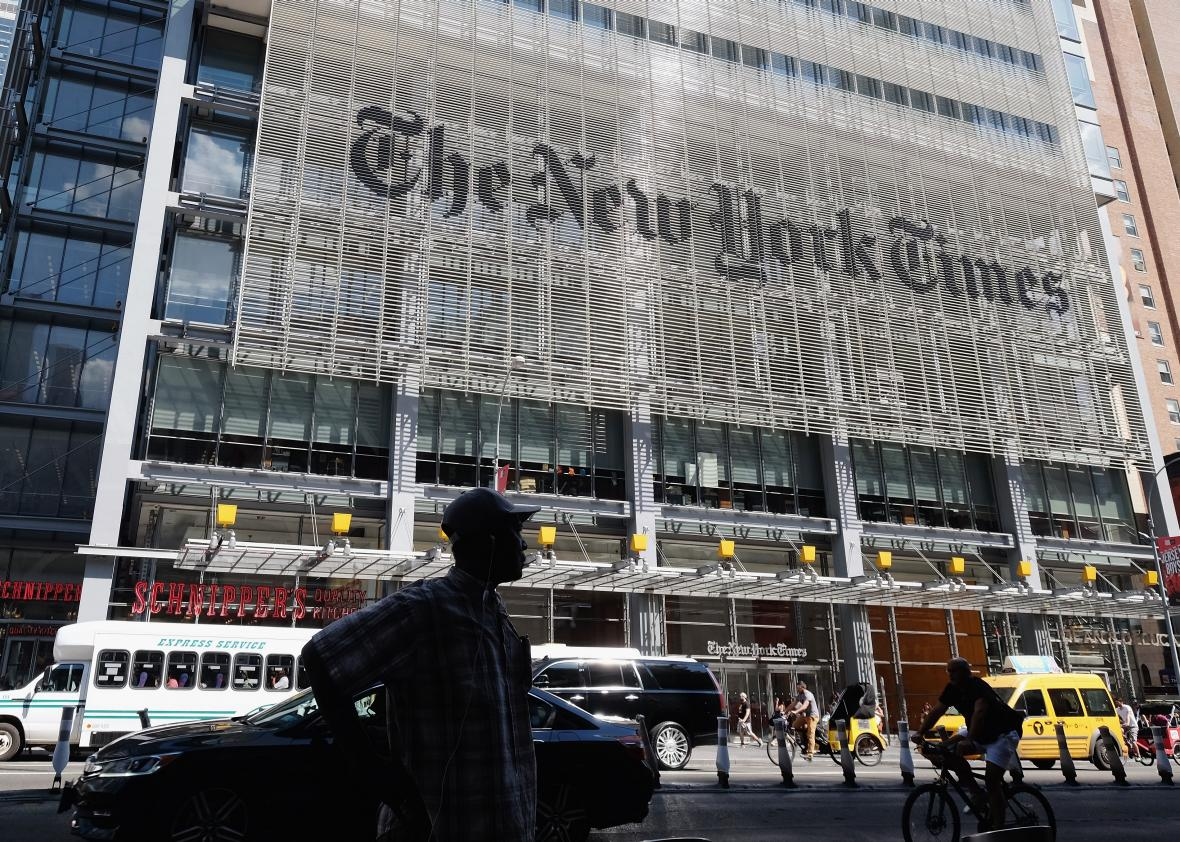 Cage Match: New York Times Vs