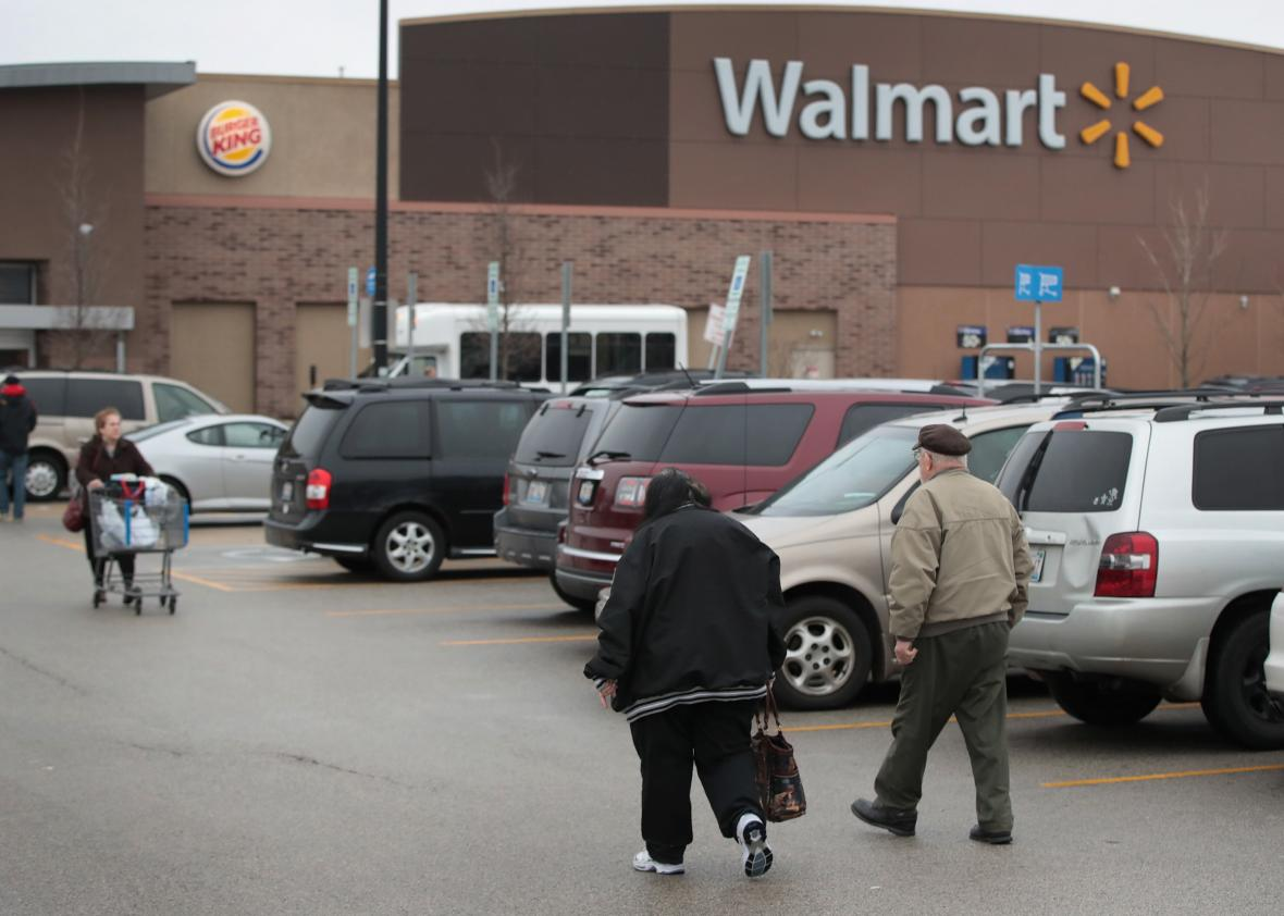 A Michigan Woman Nearly Started a Gunfight Over a Walmart Notebook