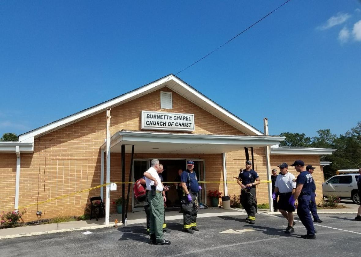 Christ Church Shooting Hd: Tennessee Church Shooting Leaves One Dead; Police Arrest
