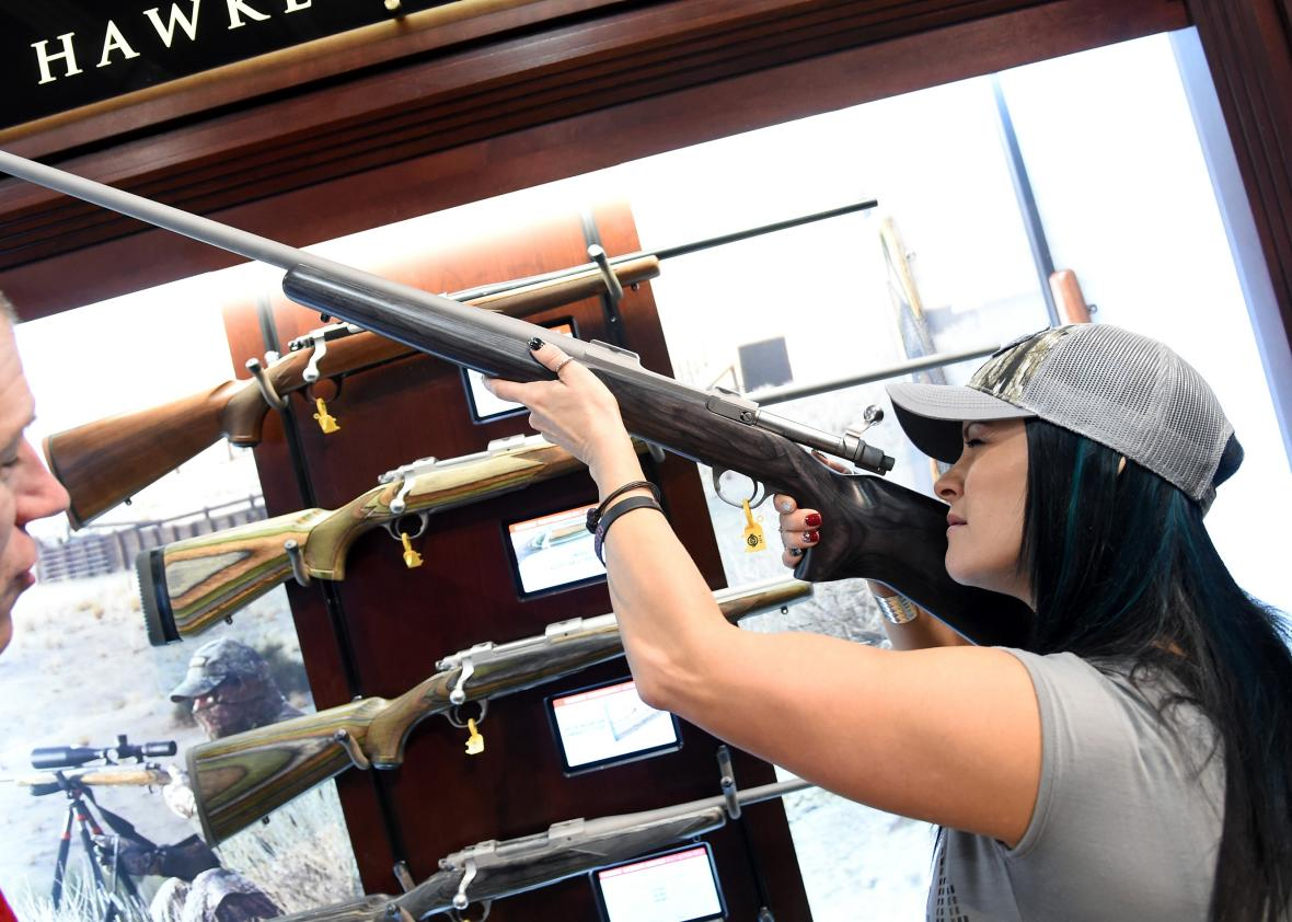 National-Shooting-Sports-Foundation-Hosts-Annual-Trade-Show-In-Las-Vegas