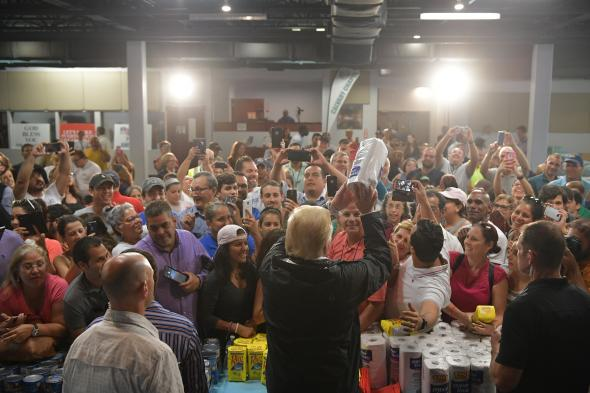 What a Great Job We Have Done, Said Trump in Puerto Rico