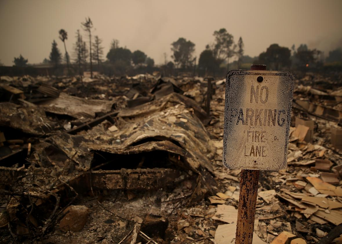 Multiple-Wildfires-Destroy-Homes-Threaten-California-Wine-Country