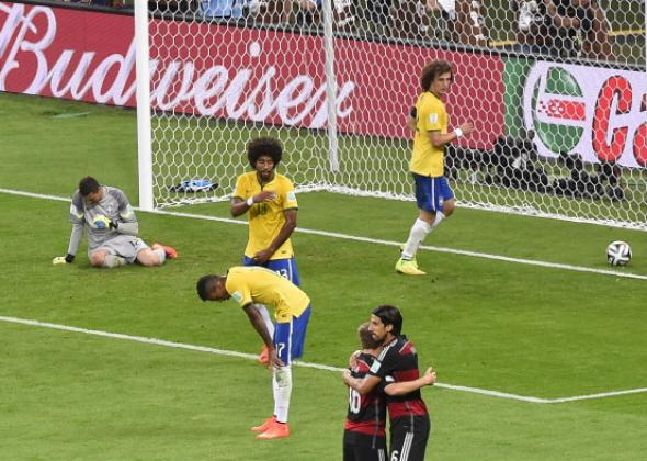Image result for brazil match pictures vs germany