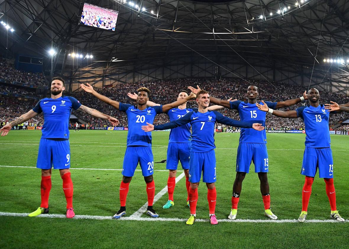 545399686-france-team-members-celebrate-after-beating-germany-2-0