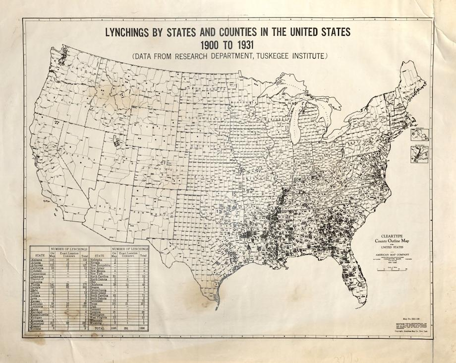 Lynching Map