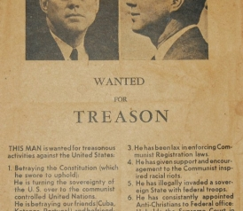 JFK Assassination: Flyer Distributed In Dallas By Edwin Walkeru0027s Group  Before His Visit  Examples Of Wanted Posters