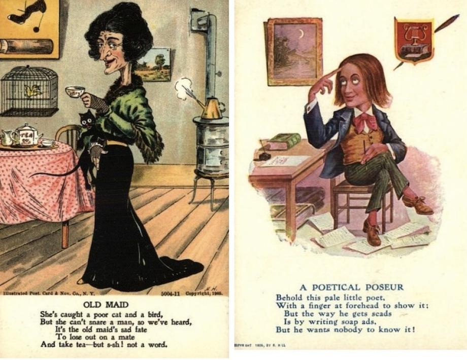 Vinegar valentines An old tradition of sending mean cards anonymously