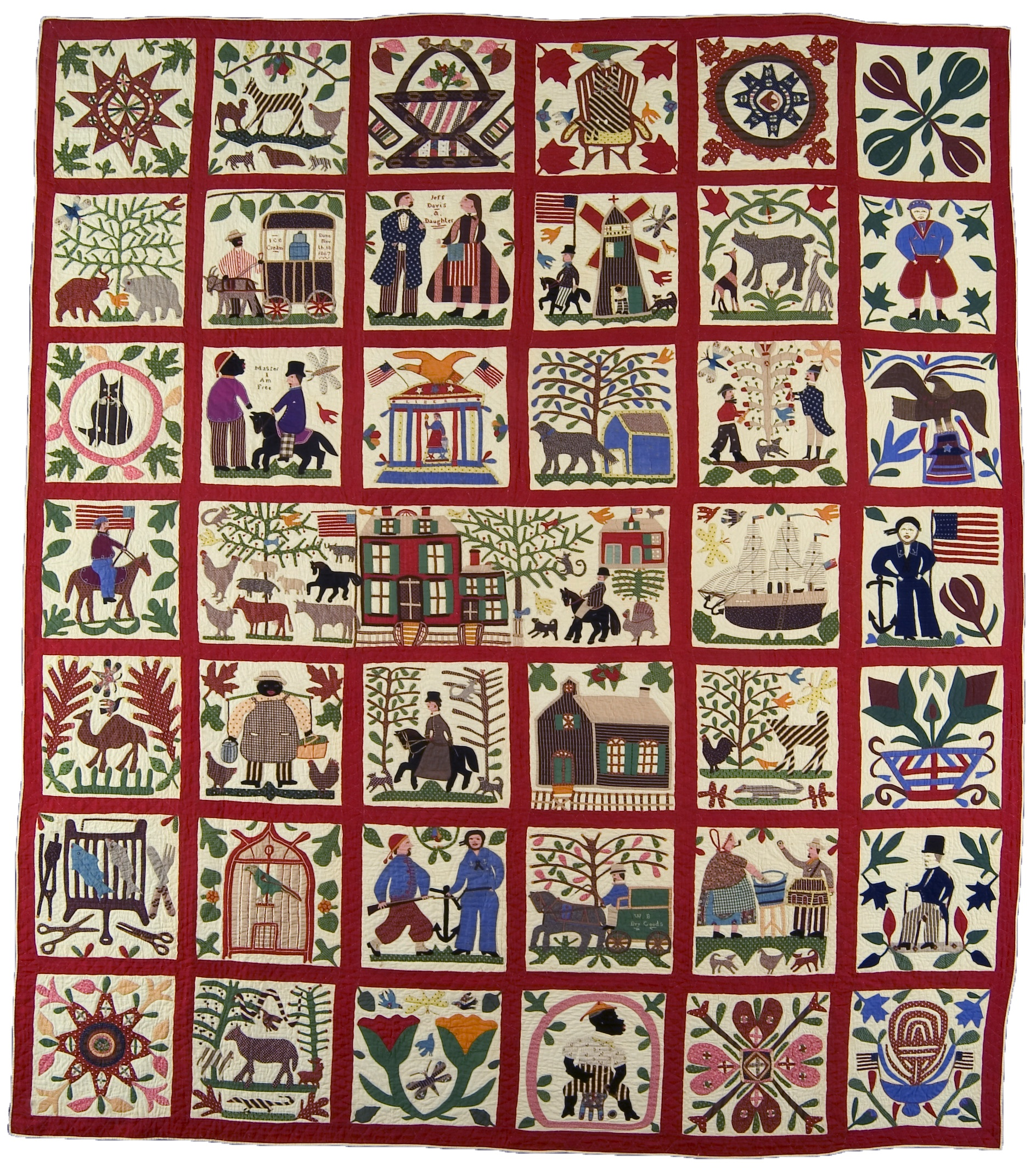 Reconciliation Quilt: Lucinda Ward Honstain's vision of the Civil ... : quilt image - Adamdwight.com