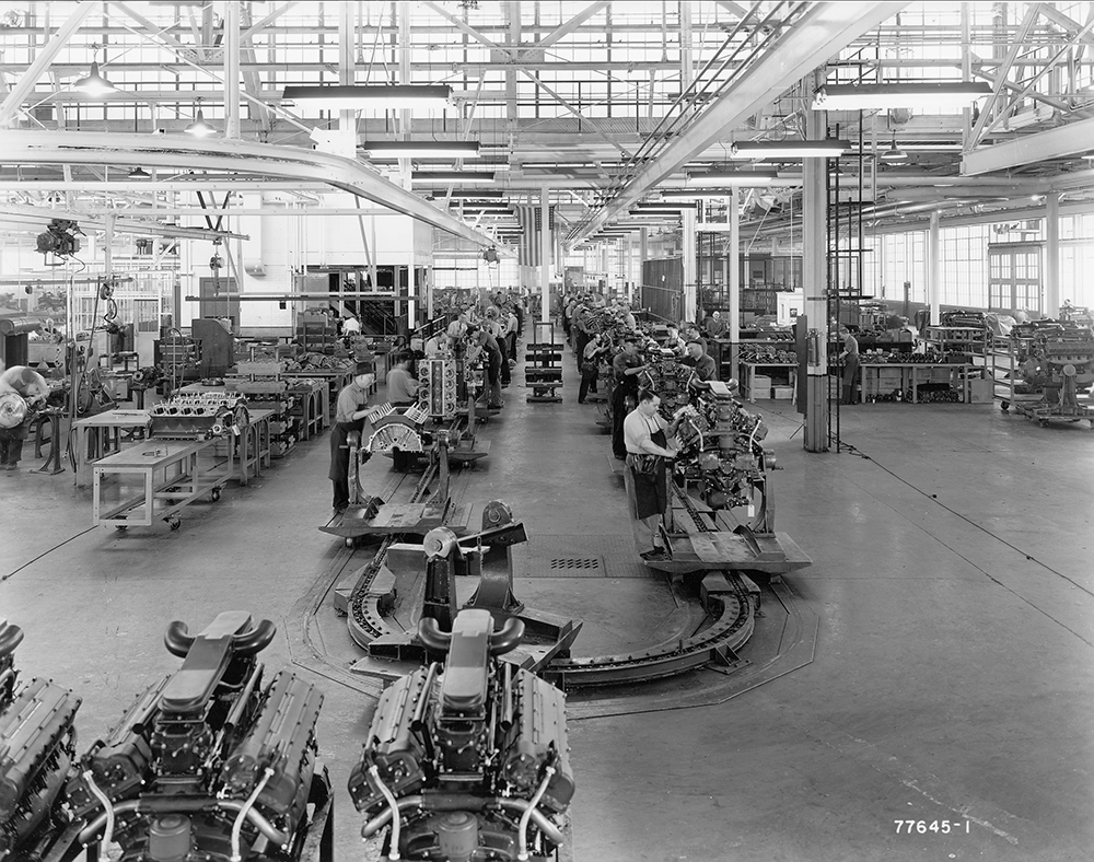 Photos: Tank manufacturing during WWII