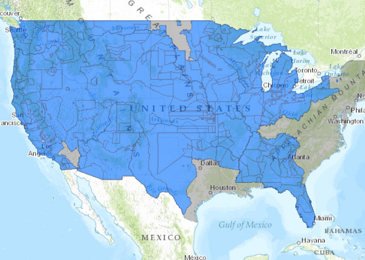 Native American Map Before Colonization.Interactive Map Loss Of Indian Land