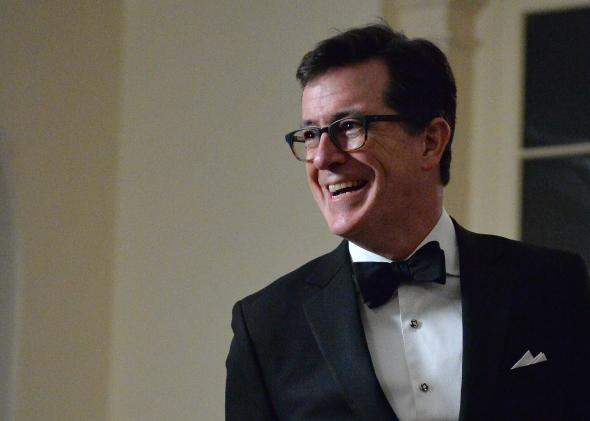 468803569-comedian-stephen-colbert-arrives-at-the-white-house-in