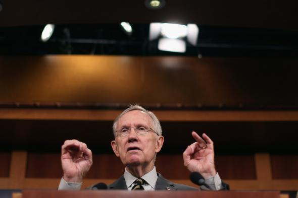 487457873-senate-majority-leader-harry-reid-answers-reporters