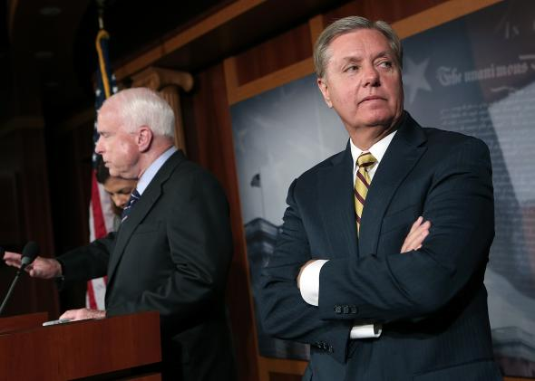 156382718-sen-john-mccain-and-sen-lindsey-graham-hold-a-news