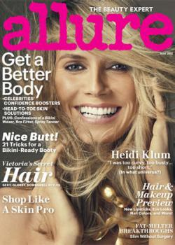 Allure's May 2012 issue features a