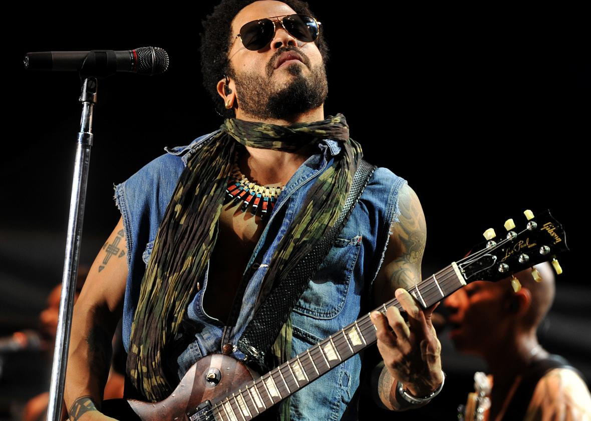 Lenny kravitz s penis proves that lenny kravitz is the perfect male