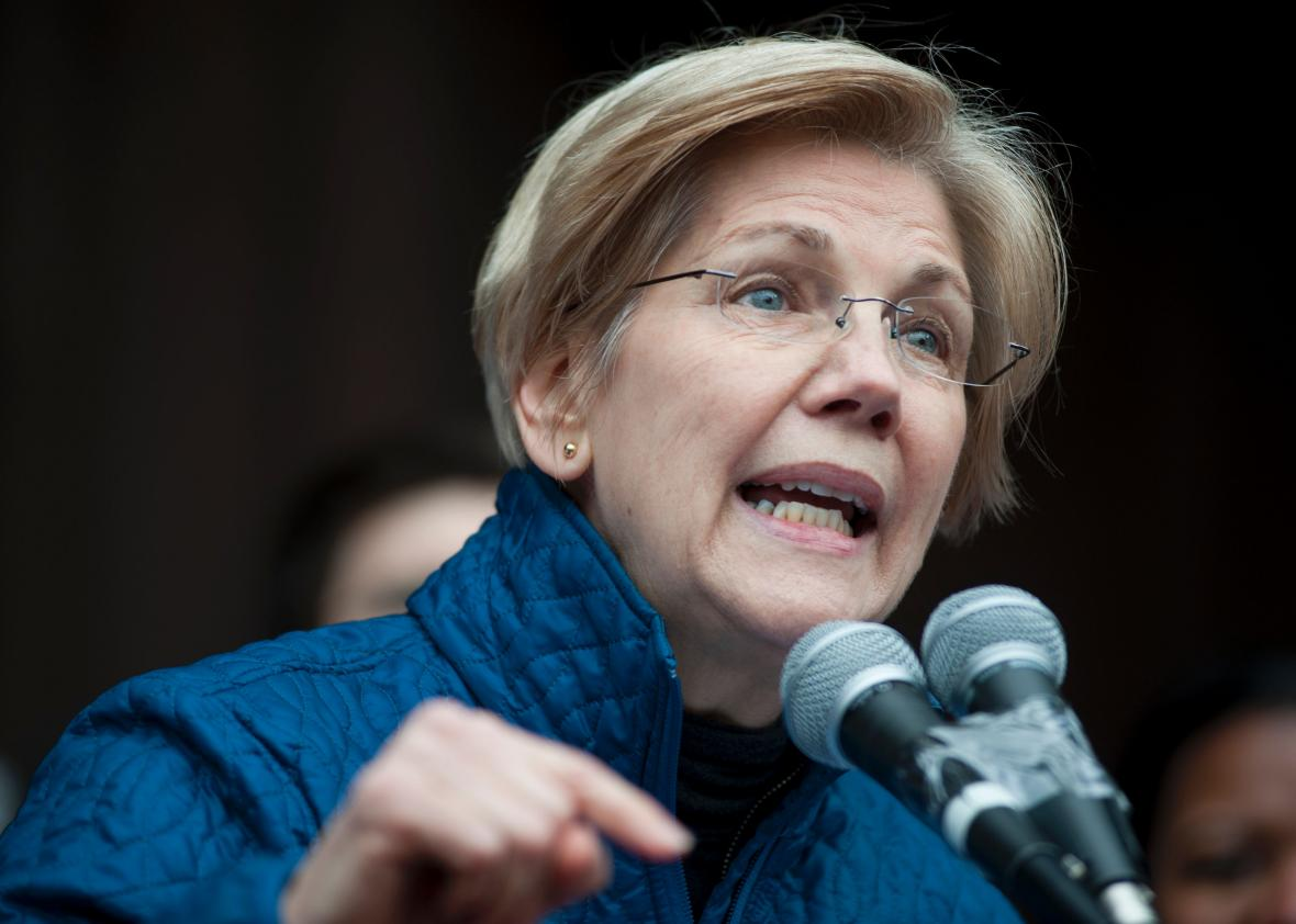 Senate GOP Silences Sen. Warren, Making Her A Persistent Folk Hero