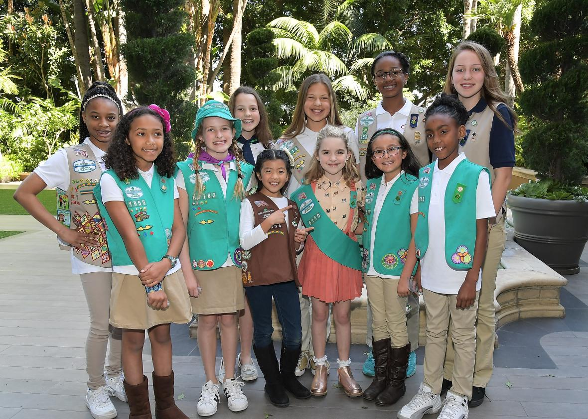 Gifted-Star-McKenna-Grace-Becomes-A-Girl-Scout