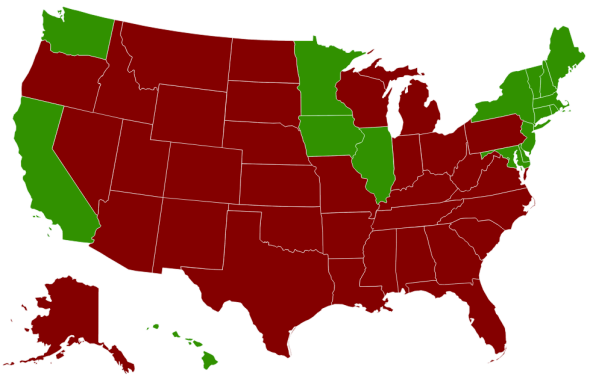 Which states allow marriage, mapped. on addiction map, birth control map, 9gag map, family interaction map, life calling map, modernism map, new moon map, inbreeding map, food issues map, lawyers map, doctrine map, long trip map, metaphysical map, stages of life map, sovereignty map, numerology map, heredity map, love wins map, middle class map,