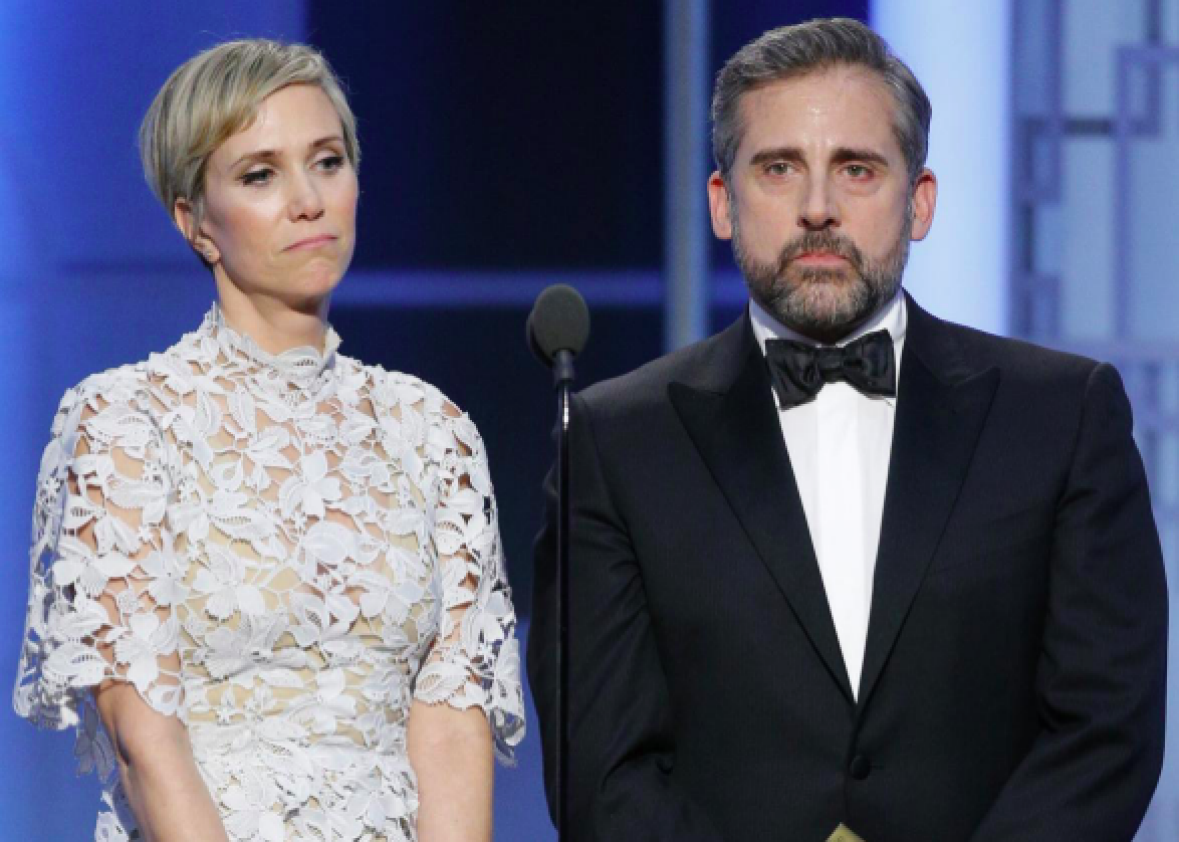 Watch the Funniest Part of Last Night's Golden Globes