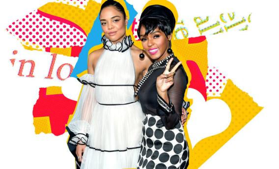 How cynical should we feel about Janelle Monáe's well-timed hints about her romance with Tessa Thompson?