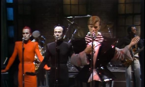SNL David Bowie tribute: Fred Armisen introduces Bowie's 1979 performance  on the show (VIDEO).