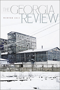 The Georgia Review: Winter 2013