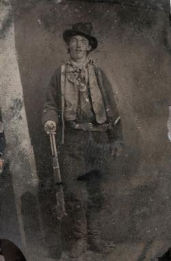 Billy the Kid, circa 1880.