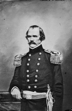 Confederate General Albert Sidney Johnston.