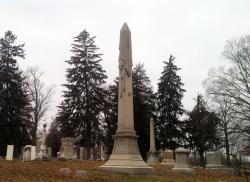 Lew Wallace's grave in Crawfordsville, Ind.