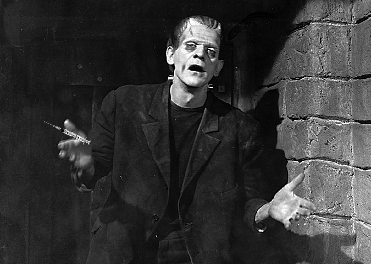Frankenstein was inspired by a dream