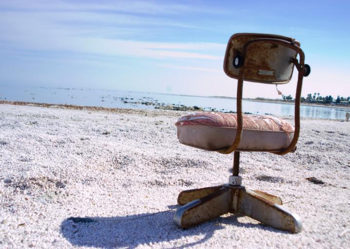 The Salton Sea In California Turned