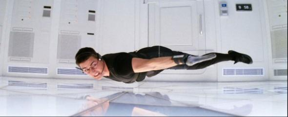 Image result for mission impossible vault scene